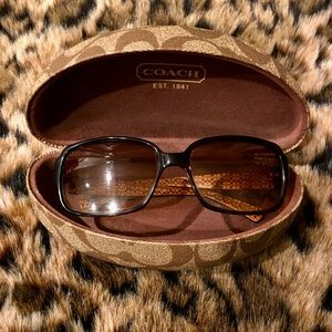 Coach Sunglasses (Leopard Print )